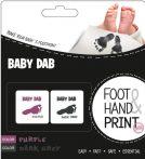 BABY DAB Lenyomatkészítő - lila/szürke