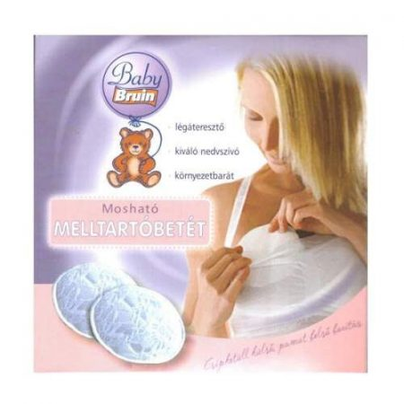 Baby Bruin mosható melltartó betét - 2db-os