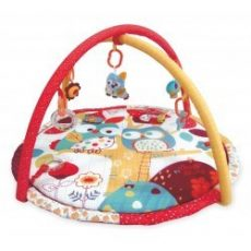 Baby Mix játszószőnyeg - pöttyös baglyok