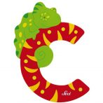 Sevi Fa betű állatos - C piros