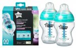 Tommee Tippee Closer To Nature Anti-Colic+ 2*260ml cumisüveg - 0+