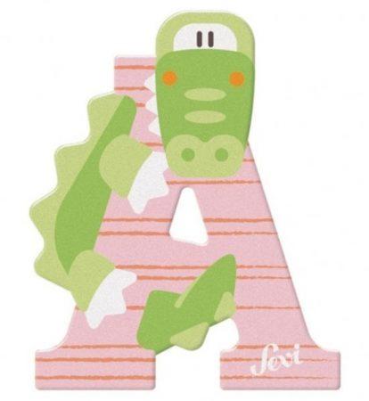Sevi Fa betű állatos - A Rózsaszin