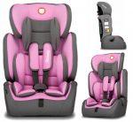 Lionelo Levi Simple 9-36kg biztonsági autósülés - Candy Pink
