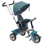 Baby Mix Rapid szülőkormányos tricikli - zöld