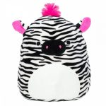Squishmallows: Tracey a zebra 20cm plüssjáték