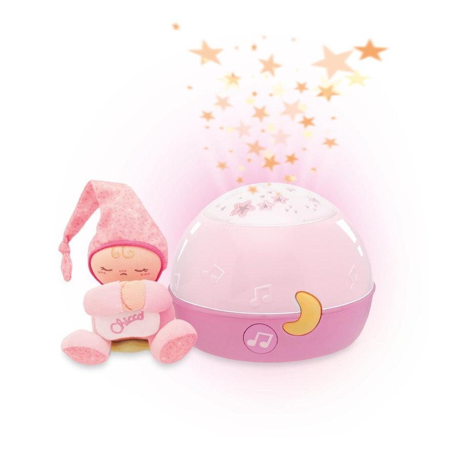 d5912913e6 Chicco Zenélő Csillagok projektor – rózsaszín - Baby Shop