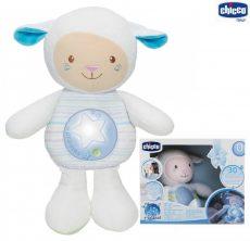 Chicco First Dreams zene-fény altató bárányka  0h + kék