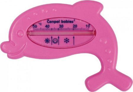 Canpol fürdővíz hőmérő - rózsaszín delfin