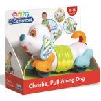 Clementoni - Charlie készségfejlesztő húzhatós kutya