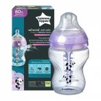 Tommee Tippee Advanced anti-colic cumisüveg 260 ml - 1 db pink mintás 0+