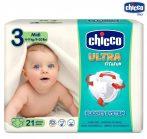 Chicco Ultra Fit&Fun pelenka 4-9 kg 21db