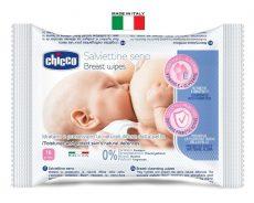 Chicco melltörlőkendő szoptatás előtt és után - 16 db