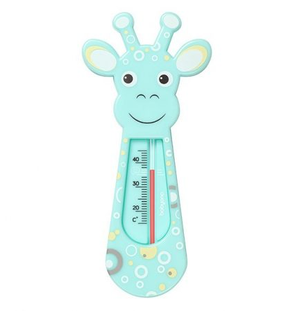BabyOno Vízhőmérő - türkiz  zsiráf