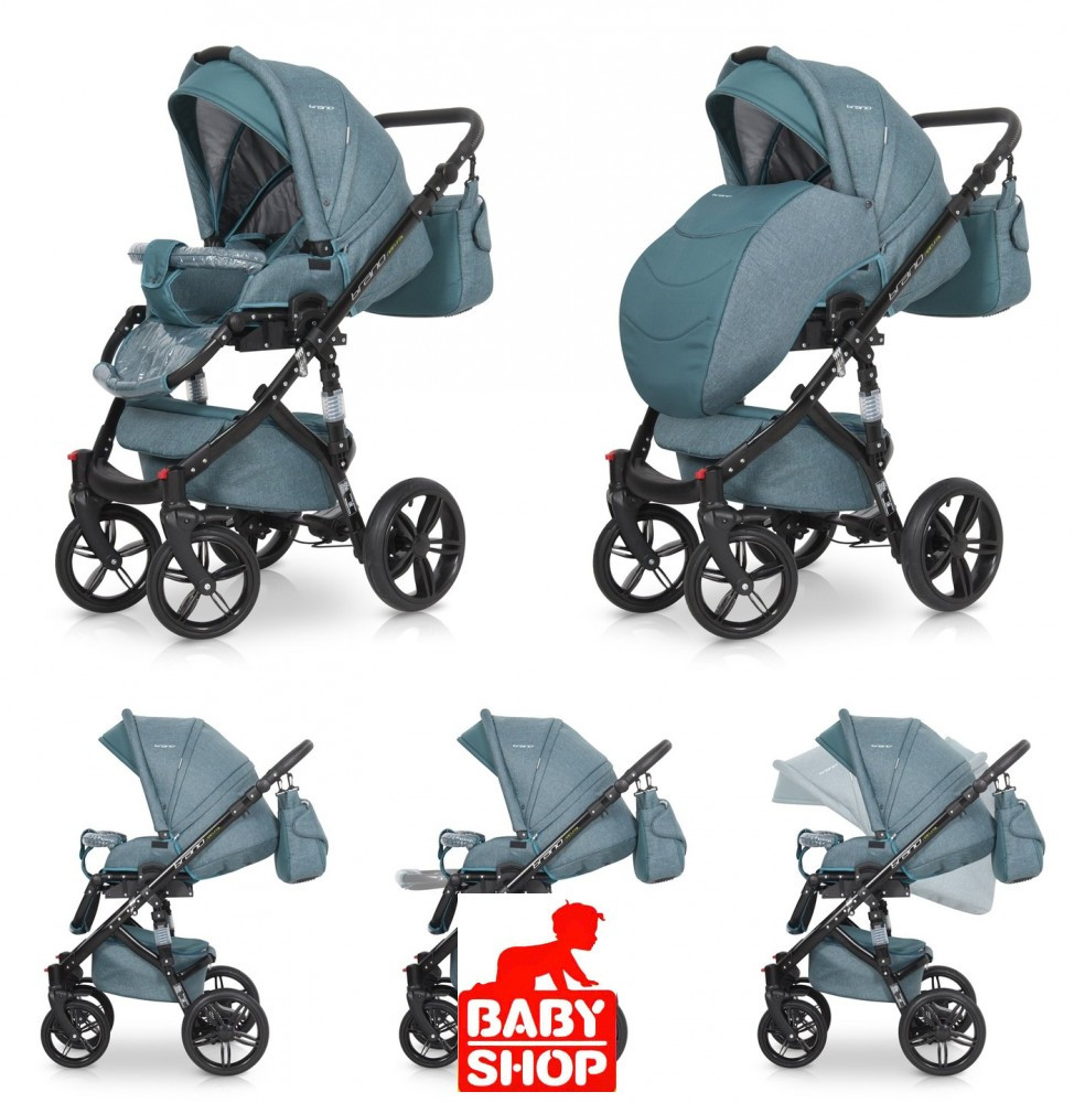 Riko Brano Natural 3 1 multifunkciós babakocsi - Olive - Baby Shop 24b0e56663