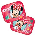 Disney autós napellenző 2db-os - Minnie Mouse Love