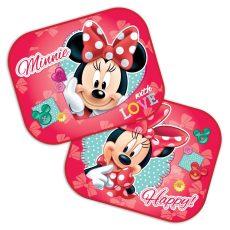 Disney autós napellenző 2db-os - Minnie Mouse Love
