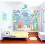 A tenger világa bébi fali tapéta - Walltastic