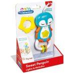 Clementoni Pingvines bébi csörgő funkcióval