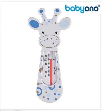 BabyOno Vízhőmérő - szürke  zsiráf