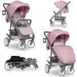 Euro-Cart Flex babakocsi -  22 kg-ig Powder pink