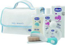 Chicco Kozmetikum táska 5 db-os - kék