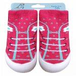 YO! Lány zoknicipő 21-es rózsaszín fűzős