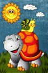 Szőnyeg - Teknősbéka/Csiga