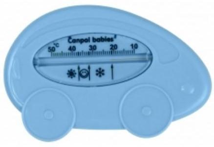 Canpol fürdővíz hőmérő - kék autó