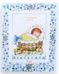 Babakönyv - kék
