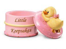 Russberrie Diddy Duck emlék dobozka - rózsaszín