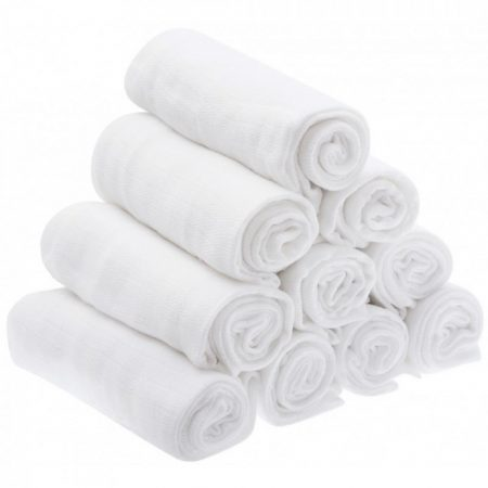 10 db-os textil pelenka - 70*80 cm