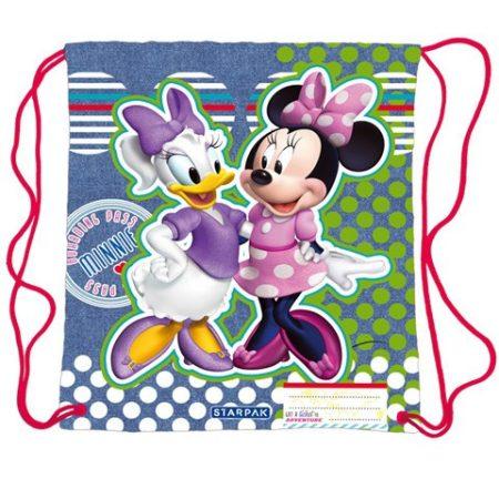 Minnie egér és daisy kacsa tornazsák, sportzsák
