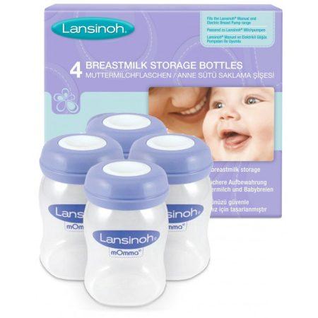 Lansinoh anyatejtároló palackok 160 ml 4 db