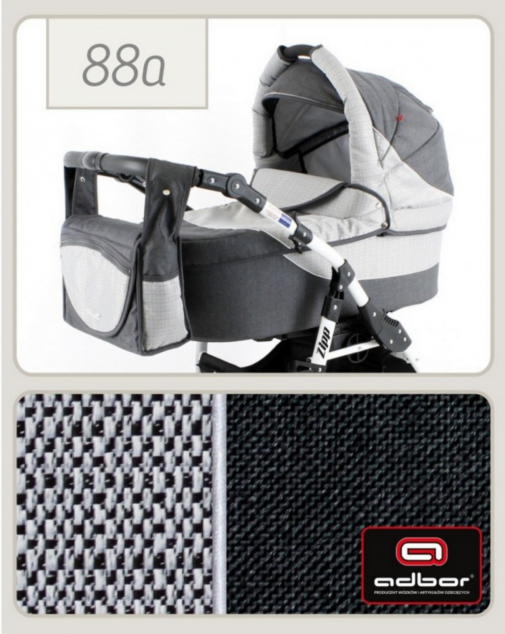 Adbor Zipp 3 1 multifunkciós babakocsi - 88 - Baby Shop 56baef7ca0