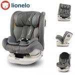 Lionelo Bastiaan  RWF 0-36 kg ISOFIX biztonsági autósülés 360° fokban elfordítható - Szürke