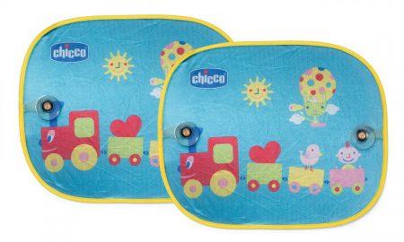 Chicco Vonatos autós napárnyékoló -  2db-os