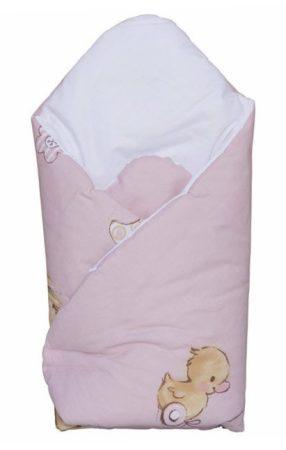 Kókuszpólya - rózsaszín Mika maci