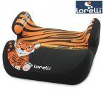 Lorelli Topo Comfort autós ülésmagasító 15-36kg - Tiger blck-orange