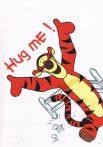 Disney tetra fürdőlepedő 140*140 cm - Tigris