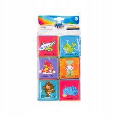 Canpol puha játék kockák - 6 db
