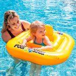 Intex bébi úszógumi - 76cm sárga