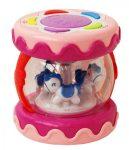 HammyBaby Musical Drum hangszer - rózsaszín