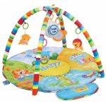 Baby Mix zenélő játszószőnyeg - szafari