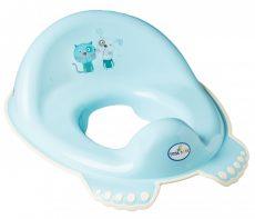 Tega Baby WC szűkítő - kék kutya&cica