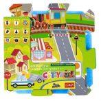 Trefl szivacs puzzle - Városi móka