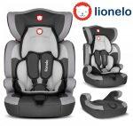 Lionelo LEVI ONE 9-36kg biztonsági autósülés - Grey