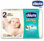 Chicco Ultra Soft pelenka 3-6 kg 25db