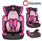 Lionelo LEVI ONE 9-36kg biztonsági autósülés - Candy pink