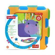 Fisher-Price szivacs puzzle - Dzsungel móka