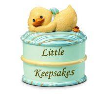 Russberrie Diddy Duck emlék dobozka - kék